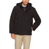 Dockers Men's 3-In-1 Hooded Soft Shell Systems Jacket
