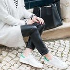 Stan Smith 绿尾女鞋