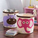 3 Sprouts Canvas Storage Bin