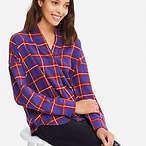 Uniqlo 女士法兰绒衬衣