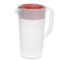 Rubbermaid Pitcher, 2 Quart, Racer Red 1953764