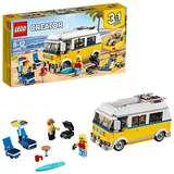 LEGO Creator 3in1 Sunshine Surfer Van 31079 Building Kit (379 Piece)