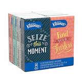 Kleenex Facial Tissues, On-The-Go Small Packs 8pk