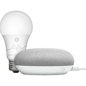 Google Smart Light Starter Kit + 2-Pack GE Smart LED Bulb