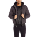 Tommy Hilfiger Men's Soft Shell Fashion Bomber with Contrast Bib and Hood $43.41, free shipping