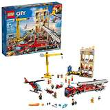 LEGO City Downtown Fire Brigade 60216 Building Kit , New 2019 (943 Piece)