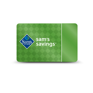 One-Year Sam's Club Membership with an eGift Card and More (65% Off). Two Options Available.
