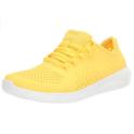 白菜!限5码!Crocs 女士柠檬黄 Literide 运动鞋