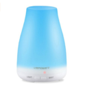 URPOWER 2nd Version Essential Oil Diffuser, 100ml Aroma Essential Oil Cool Mist Humidifier with Adjustable Mist Mode,Waterless Auto Shut-off and 7 Color LED Lights $15.95