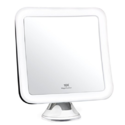 "Fancii 10X Magnifying Lighted Makeup Mirror - Daylight LED Travel Vanity Mirror - Compact, Cordless,, Locking Suction, 6.5"" Wide, 360 Rotation for $24.99,FREE Shipping"