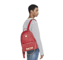 MCM Women's Project (RED) Trilogie Stark Backpack, Ruby, ONE SIZE