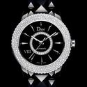 JomaShop: DIOR VIII Automatic Diamond Ceramic Ladies Watch CD1245E2C001
