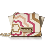 ZAC Zac Posen Eartha Mini Chain Crossbody-Digital Printed Hex Floral $65.48,free shipping