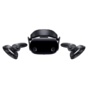 "Samsung Electronics HMD Odyssey+ Windows Mixed Reality Headset with 2 Wireless Controllers 3.5"" Black (XE800ZBA-HC1US) $229.00 free shipping"