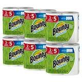 Bounty Quick-Size 厨房纸 12超大卷,现点击coupon后