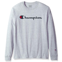 Champion Men's Classic Jersey Long Sleeve Script T-Shirt $16.49