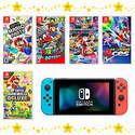 Nintendo Switch Console with Your Choice of Mario Game