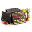Excalibur 3926TB 9-Tray Electric Food Dehydrator with Temperature Settings and 26-hour Timer Automatic Shut Off for Faster and Efficient Drying Includes Guide to Dehydration $191.99,free shipping