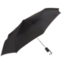 Lewis N. Clark Compact & Lightweight Travel Umbrella Opens & Closes Automatically, Black, One Size $11.54