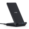 Anker Fast Wireless Charger, 10W Wireless Charging Stand, Qi-Certified, Compatible iPhone XR/Xs Max/XS/X/8/8 Plus, Fast-Charging Galaxy S10/S9/S9+/S8/S8+ (No AC Adapter) $13.99