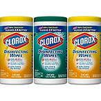 Clorox 消毒湿巾 75片 3盒