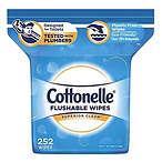 Cottonelle 可冲湿巾 252片