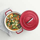Martha Stewart Collection Collector's Enameled Cast Iron 6 Qt. Round Dutch Oven
