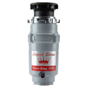 Waste King Legend Series 1/2 HP Continuous Feed Garbage Disposal with Power Cord - (L-1001) $52.99 FREE Shipping