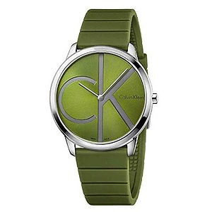 CALVIN KLEIN Minimal Green Dial Men's Watch EXTRA $16 OFF