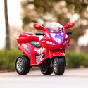 Best Choice Products: 6V Kids 3-Wheel Motorcycle Ride-On Toy w/ LED Lights, Music, Storage