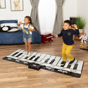 Best Choice Products: Giant Piano Keyboard Playmat w/ 8 Instrument Settings - Black/White