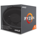 AMD Ryzen 5 2600X Processor with Wraith Spire Cooler - YD260XBCAFBOX $139.99