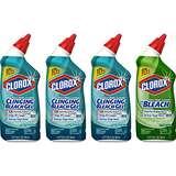 仅限今日!史低价!Clorox 马桶洁净清洗剂,24 oz/瓶,共4瓶