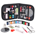 Coquimbo Sewing Kit for Traveler, Adults, Beginner, Emergency, DIY Sewing Supplies Organizer Filled with Scissors, Thimble, Thread, Sewing Needles, Tape Measure etc $6.99