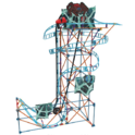 K'NEX Thrill Rides – Cobweb Curse Roller Coaster Building Set – 473Piece – Ages 9+ Construction Educational Toy Building Set $29.99,free shipping