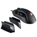 CORSAIR GLAIVE - RGB Gaming Mouse - Comfortable & Ergonomic - Interchangeable Grips - 16000 DPI Optical Sensor - Black $39.00,FREE Shipping