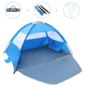 Gorich [2019 New] Beach Tent,UV Sun Shelter Lightweight Beach Sun Shade Canopy Cabana Beach Tents Fit 3-4 Person $31.99,free shipping