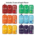 bubly Sparkling Water, 3 Flavor Variety Pack, 12 Ounce Cans (18 Count) $7.31