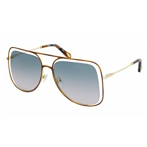 CHLOE Green to Rose Gradient Square Ladies Sunglasses Item No. CE130S24057, only $79.99, free shipping