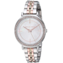 Michael Kors Watches Women's Cinthia Three-Hand Tri-Tone Stainless Steel Watch $115.50,free shipping