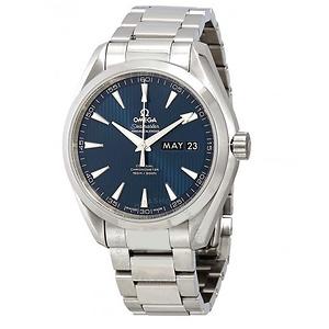 OMEGA Aqua Terra Co-Axial Annual Calendar Blue Dial Men's Watch Item No. 231.10.43.22.03.002