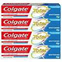 Colgate高露洁 强效美白牙膏, 4.8 oz/支,4支装
