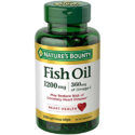 Nature's Bounty Omega-3 Fish Oil, Heart Health, 1200 mg, 320 Rapid Release Softgels x 2, $19.43