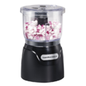 Hamilton Beach (72850) Food Processor Mini Chopper, 3 Cup, Electric, Black $18.69