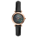 Fossil Women's Carlie Mini Stainless Steel and Leather Quartz Watch $54.59,free shipping