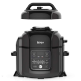 Ninja OP401 Foodi 8-Quart Pressure, Steamer, Air Fryer All-in- All-in-One Multi-Cooker, Black/Gray $209.44 free shipping