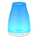 InnoGear Upgraded Version Aromatherapy Essential Oil Diffuser Portable Ultrasonic Diffusers Cool Mist Humidifier with 7 Colors LED Lights $14.99