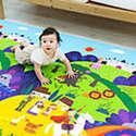 Dwinguler Large Kids Playmat Sale