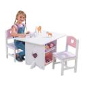 KidKraft 多用途儿童桌椅套装,原价 $118.93,现点击coupon后