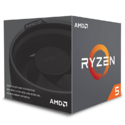 AMD Ryzen 5 2600 Processor with Wraith Stealth Cooler - YD2600BBAFBOX $164.99,free shipping